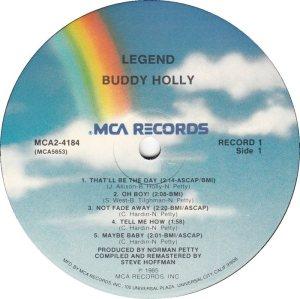 1985 - MCA LP 4184 D