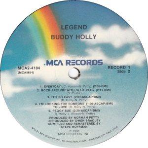 1985 - MCA LP 4184 E