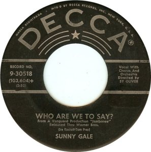 57-11-26 GALE SUNNY 1ST