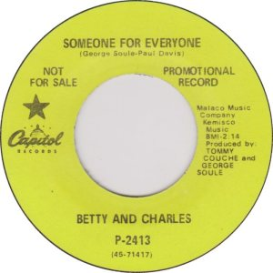 BETTY & CHARLES 69 A