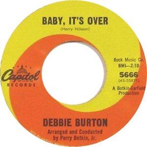 BURTON DEBBIE 66 A