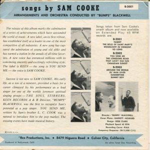 COOKE - 45 EP KEEN 2001 B