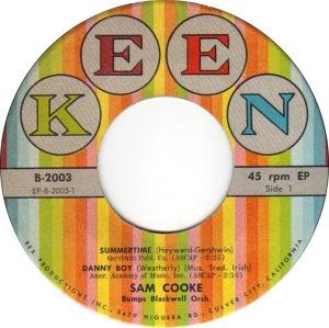 COOKE - 45 EP KEEN 2003 C 58