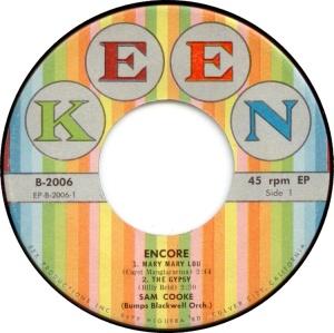 COOKE - 45 EP KEEN 2006 58 C