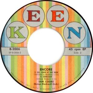COOKE - 45 EP KEEN 2006 58 D