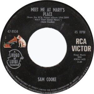 COOKE - 45 RCA 8934 A