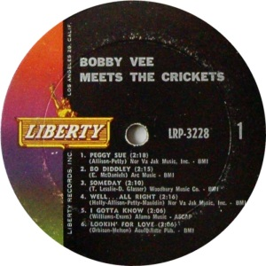 CRICKETS VEE - LIBERTY 3228 A
