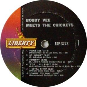 CRICKETS VEE - LIBERTY 3228 A