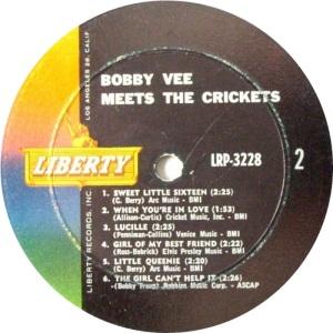 CRICKETS VEE - LIBERTY 3228 B