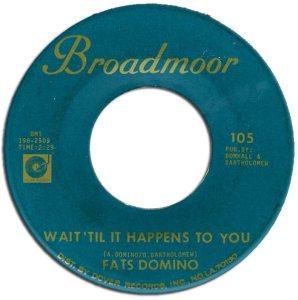 DOMINO 45 - BROADMORE 105 B