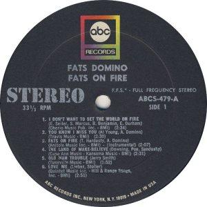 DOMINO LP ABC 479 C
