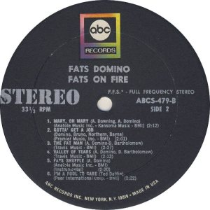 DOMINO LP ABC 479 D