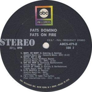 DOMINO LP ABC 479 D