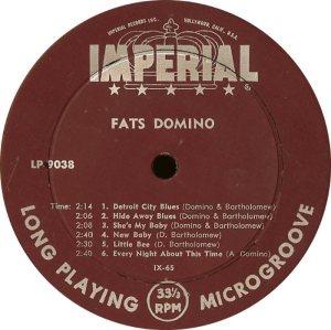 DOMINO LP IMP 9038 C