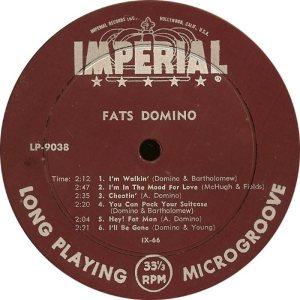 DOMINO LP IMP 9038 D