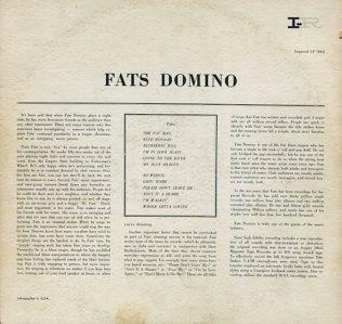 DOMINO LP IMP 9062 B
