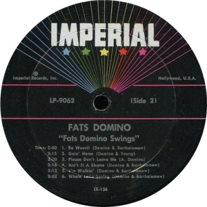 DOMINO LP IMP 9062 D