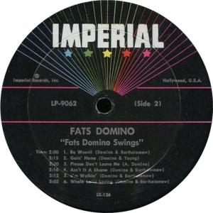 DOMINO LP IMP 9062 D
