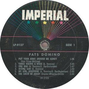 DOMINO LP IMP 9127 C