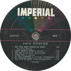 DOMINO LP IMP 9127 C