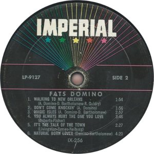 DOMINO LP IMP 9127 D