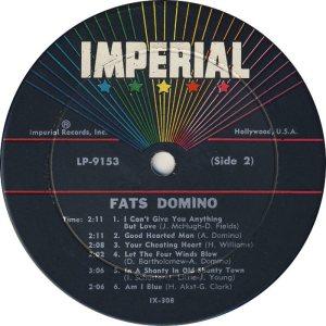 DOMINO LP IMP 9153 D