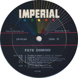DOMINO LP IMP 9164 D