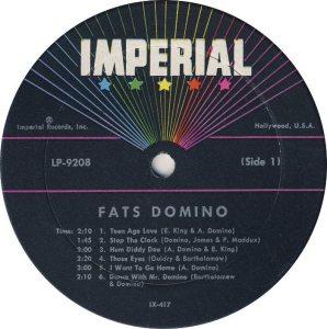 DOMINO LP IMP 9208 C