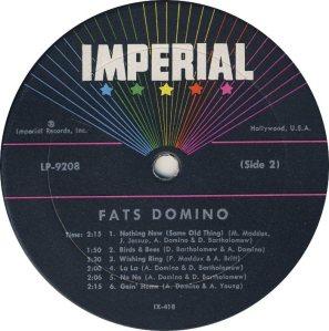 DOMINO LP IMP 9208 D