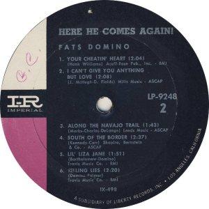 DOMINO LP IMP 9248 D
