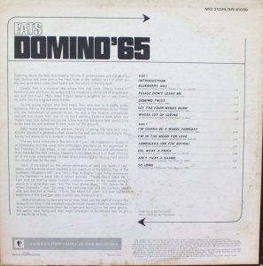 DOMINO LP MERC 61039 B