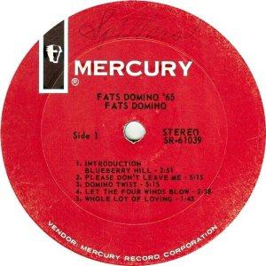 DOMINO LP MERC 61039 C