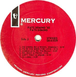DOMINO LP MERC 61039 D