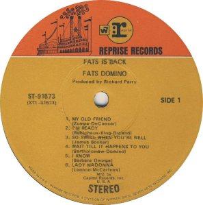 DOMINO LP REP 91573 C