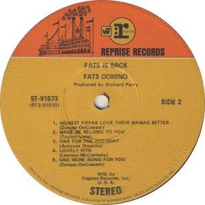 DOMINO LP REP 91573 D