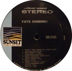 DOMINO LP SUNSET 5103 C
