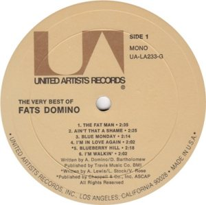 DOMINO LP UA 233 D