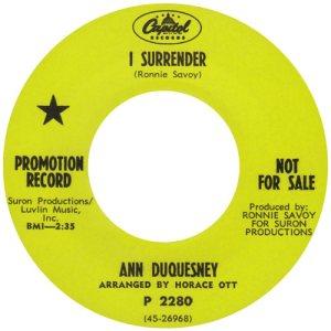 DUQUESNEY ANN - 68 A