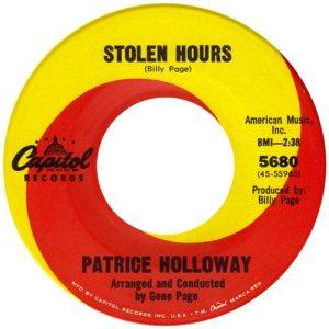 HOLLOWAY PATRICE 66 A