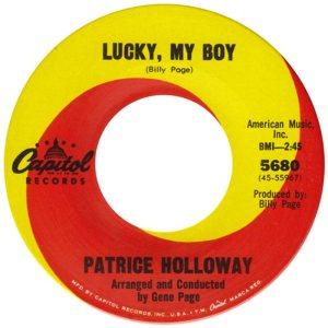 HOLLOWAY PATRICE 66 B