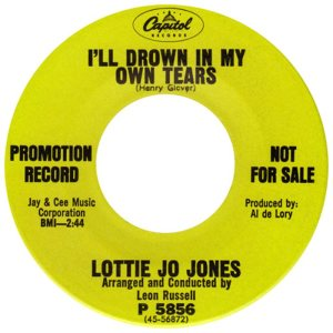 JONES LOTTIE JO - 67 A