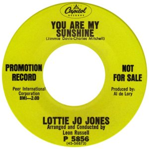 JONES LOTTIE JO - 67 B