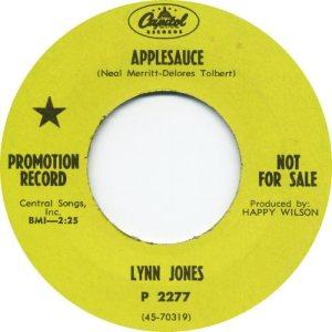 JONES LYNN 68 A