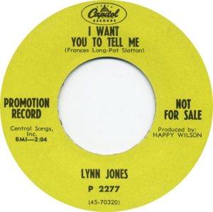 JONES LYNN 68 B