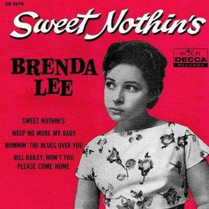 LEE, BRENDA - DECCA 1960 - EP 2676 A