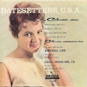 Lee, Brenda - Decca 1960 EP 38169 A