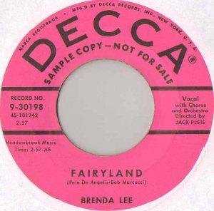LEE, BRENDA DECCA 30198 B