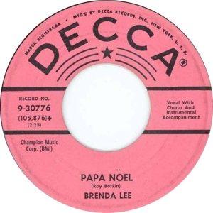 LEE, BRENDA - DECCA 30776 D