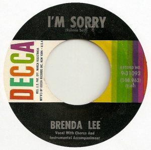 Lee, Brenda - Decca 31093 D