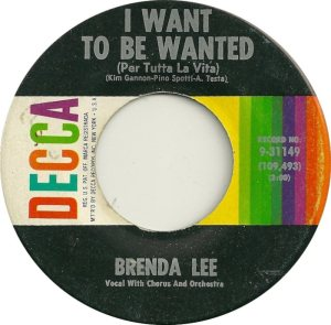 Lee, Brenda - Decca 31149 B
